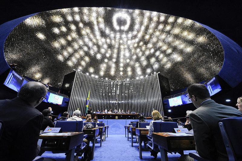 Plenário do Senado. / Foto: Edilson Rodrigues/Agência Senado